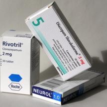 diazepam - rivotril neurol obaly